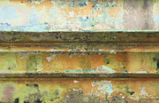 Peeling Paint Mixed Media - Urban Patina in Pastels by Anahi DeCanio
