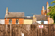 Red Roof Prints - Urban scene Print by Tom Gowanlock