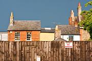 Urban Scene Print by Tom Gowanlock
