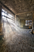 Haunted House Photos - Urbex sun by Nathan Wright