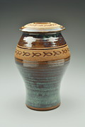 Large Ceramics - Urn by Joe Pinder