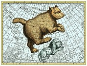 Star Map Posters - Ursa Major Constellation, Bode Star Atlas Poster by Detlev Van Ravenswaay