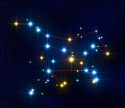 Big Dipper Prints - Ursa Major Print by Roger Harris