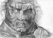 Lord Drawings - Uruk-Hai by Avery Wilson