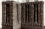 1400 Prints - Uruk: Innin Temple Facade Print by Granger