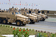 Mrap Photos - U.s. Army Caiman Vehicles Take Part by Stocktrek Images