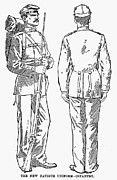 U.s Army Prints - U.s. Army: Fatigues, 1882 Print by Granger