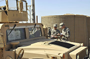 M1114 Photos - U.s. Army Soldiers Take Accountability by Stocktrek Images
