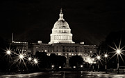 Tetyana Kovyrina - US Capitol at night