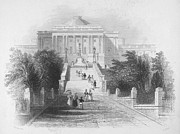 Senate Prints - U.S. CAPTIOL, 1830s Print by Granger