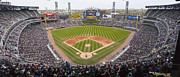 Baseball Stadium Photos - US Cellular Field Chicago Illinois by Steve Sturgill