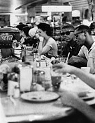 Bh History Photos - Us Civil Rights. Black Patrons Sitting by Everett