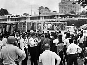 Paddy Wagon Framed Prints - Us Civil Rights. Civil Rights Framed Print by Everett