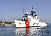 Law Enforcement Prints - U.s. Coast Guard Cutter Uscgc Seneca Print by Stocktrek Images