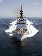 Military Photo Metal Prints - U.s. Coast Guard Cutter Waesche Metal Print by Stocktrek Images