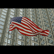 American Flag Prints - U.s. Fag Print by Elido Turco Photographer