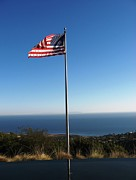 Victoria  Johns - US Flag at Pepperdine...