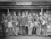 Uniforms Metal Prints - U.s. Military Mail Orderlies. Ca Metal Print by Everett