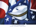Cap Framed Prints - U.S. Navy Nurse Corps Framed Print by Marlyn Boyd