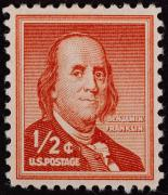 Artefact Photos - U.s. Stamp: Franklin by Granger