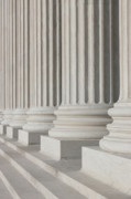 Marble Art - US Supreme Court Building I by Clarence Holmes