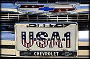 Car Art - Usa 1 by Ricky Barnard