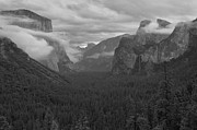 Mariposa County Prints - Usa, California, Mariposa County, Yosemite Valley Print by Gary J Weathers