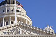Y120907 Art - Usa, California, Sacramento, California State Capitol Building by Bryan Mullennix