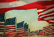 Pride Paintings - Usa by Nop Briex