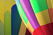 Y120907 Art - Usa, Oregon, Tigard, Close-up Of Balloons by Bryan Mullennix