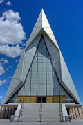 Colorado Springs Art - USAF Academy Chapel - 4 by David Bearden