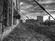 Train Depot Prints - USAs Most Dangerous City Print by Jane Linders