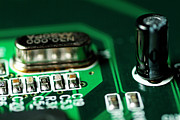 Circuitry Photos - USB board by Sami Sarkis