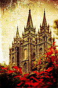Slc Prints - Use it Vintage Temple Print by La Rae  Roberts