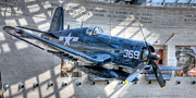 Va Acrylic Prints - USMC F4U Corsair Acrylic Print by JC Findley