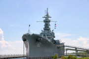 Warship Prints - USS Alabama Print by Kristin Elmquist