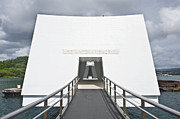 Hawii Framed Prints - USS Arizona Memorial Framed Print by Rob Tilley