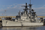 Little Rock Prints - USS Little Rock Print by Peter Chilelli