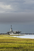 Carrier Framed Prints - USS Yorktown  Framed Print by Drew Castelhano