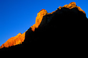 Zion National Park Framed Prints - Utah - Zion Landscape Framed Print by Terry Elniski