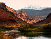 Geology Prints - Utah Colorado River Print by Marilyn Hunt