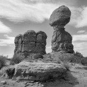 Rock Formation Prints - Utah Outback 31 Print by Mike McGlothlen