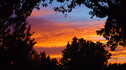 Utah Sunset Print by Stephen Lawrence Mitchell