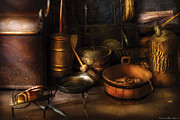 Kitchen Art - Utensils - Colonial Utensils by Mike Savad
