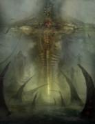 Utherworlds Lake Odium Print by Philip Straub