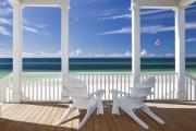 Emerald Coast Framed Prints - Utopia Framed Print by Janet Fikar
