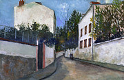1912 Photos - Utrillo: Sannois, 1912 by Granger
