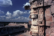 Archaeology Photos - Uxmal Ruins Mexico by John  Mitchell