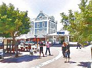 Jan Hattingh Prints - V and A Waterfront Cape Town Print by Jan Hattingh