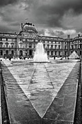 Louvre Museum Framed Prints - V Framed Print by Jason Wolters